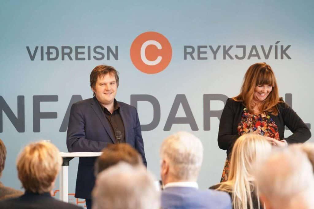 Pawel Bartozek og Þórdís Lóa Þórhallsdóttir borgarstjórnarkosningar 2018