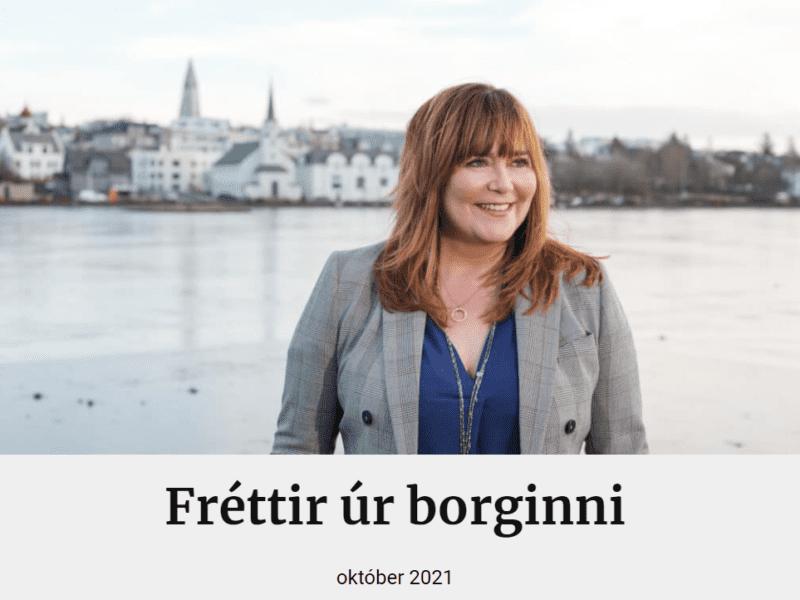 Fréttir úr borginni október